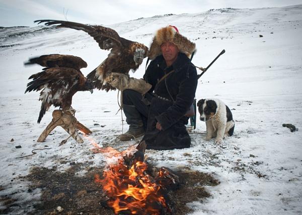 Comes the snow..comes the hunter...