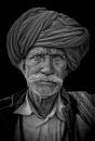 Camel man of Rajasthan by sawsengee