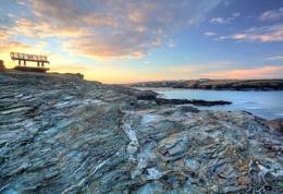 Winter Morning, Treyarnon Bay