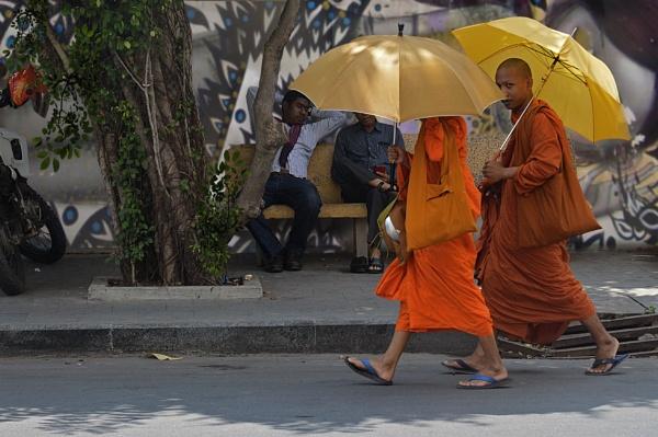 The Saffron Monks by Scaramanga