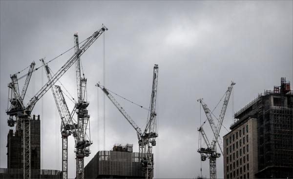 Nesting cranes by rambler
