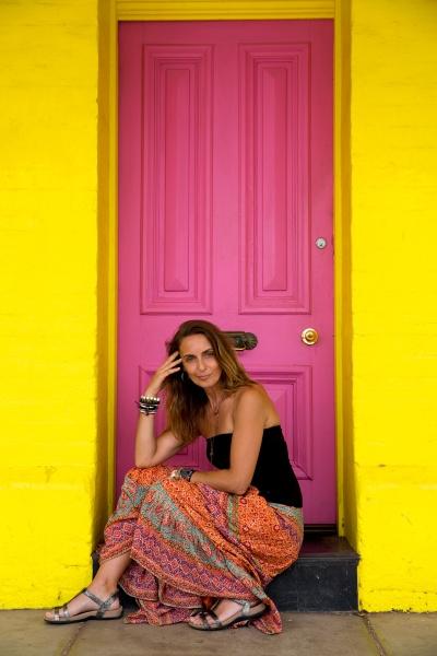 The pink door by xenija