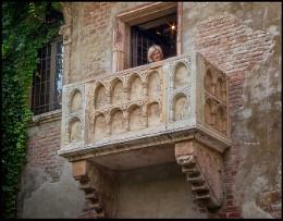Photo : Juliet's Balcony ~ Verona