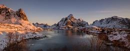 Sunrise at Reine, Norway