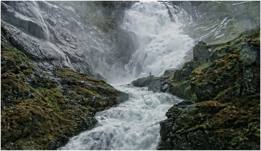 Kjosfossen Waterfall - Norway 2