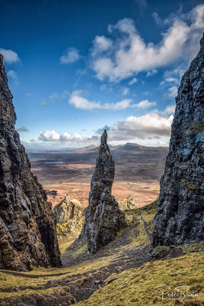 The Quiraing on the Isle of Skye by Pete2453