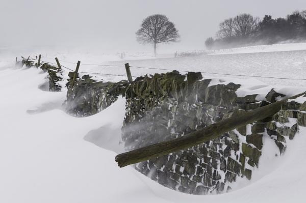 Drifting Snow by Trevhas