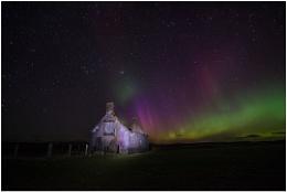 Aurora over Moine House