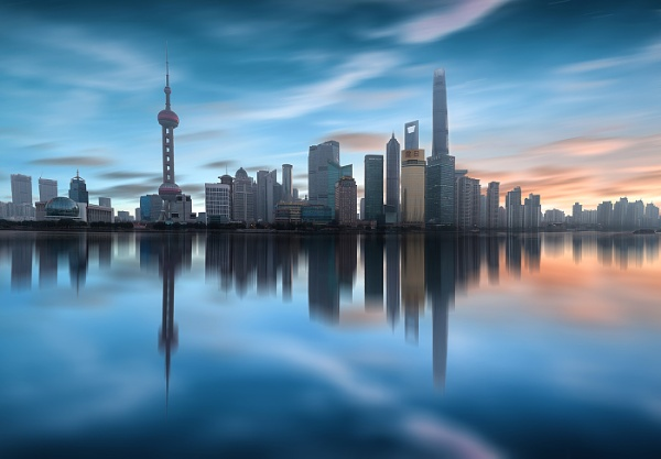 Shanghai Dawn by nickmoulds
