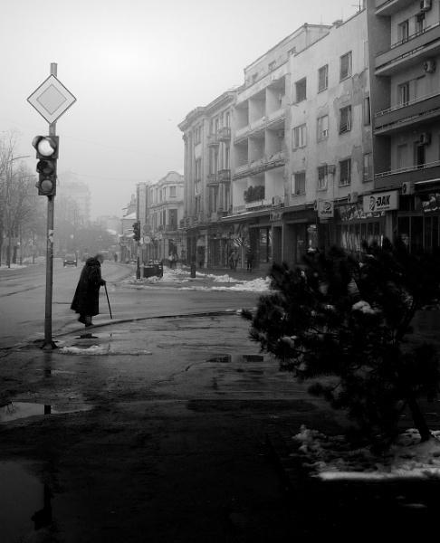 Winter Scene XLIV by MileJanjic