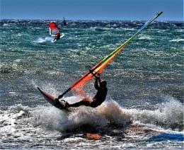La Azohia Wind Surfers