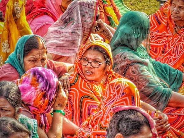 Bandhage Saree Rajasthan by vishhhy