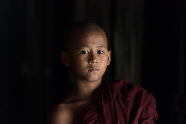 Novice Monk by edrhodes