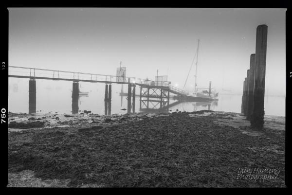 Misty Slipway by IainHamer