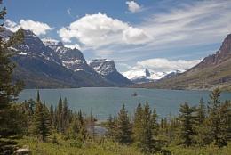 St Mary Lake - Glacier National Park USA