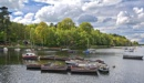 Boats on Rudyard lake by Kenfromsot