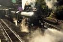 Romney Hythe and Dymchurch Railway by peterthowe