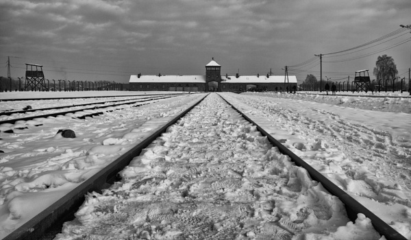 Birkenau Entrance by Peter_West