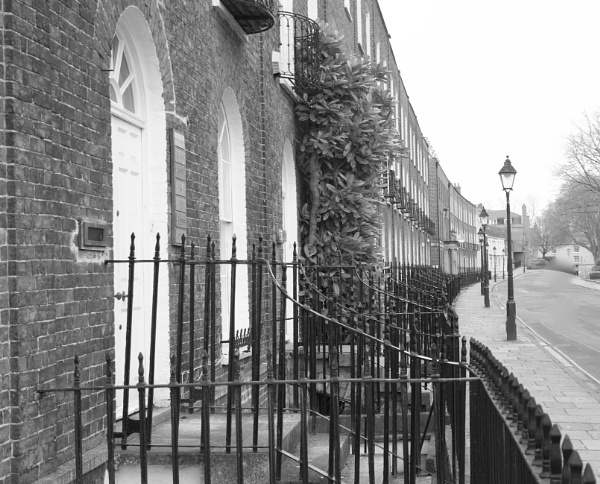 The Crescent Taunton Somerset by Lencollard