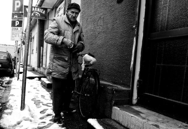 Street Portrait by MileJanjic
