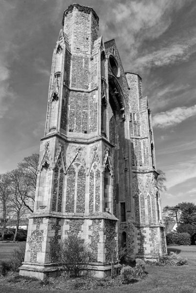 Walsingham Abbey by NevJB