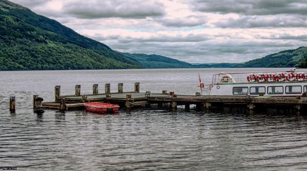 Loch Lomond at Tarbet.