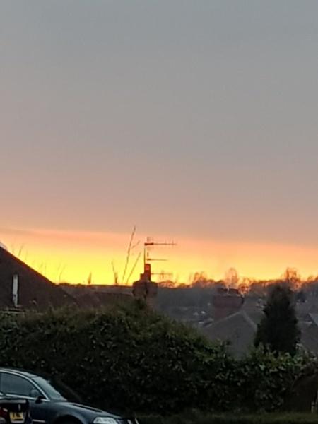Spring Evening Sunset by ameliaj123