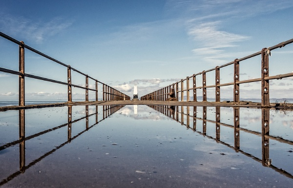 Pier reflections by Sue_R
