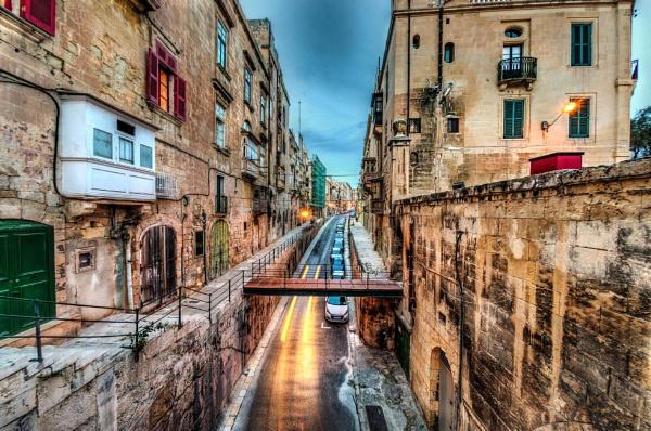 Valletta at Dusk by AndrewAlbert