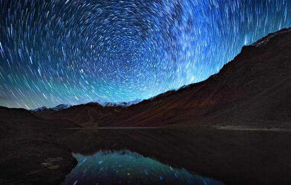 Milkyway at Chandratal by drjskatre