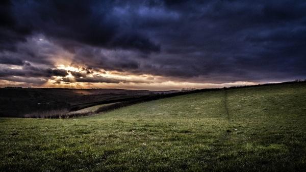 Devon sunset by PaulSwinney
