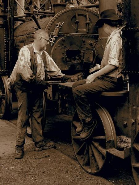 Beamish Locomotive by phil hall