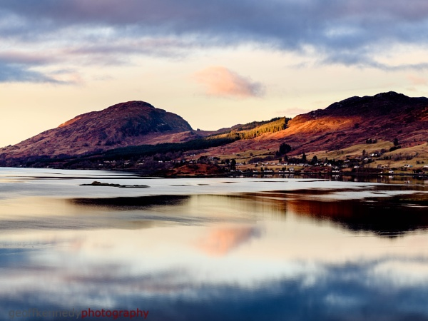 First Light at Lochcarron by geffers7