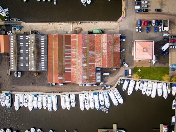 Boat yard by Stevetheroofer