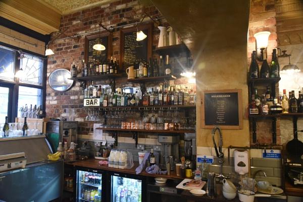 Barkers Coffee Shop by lightshipman