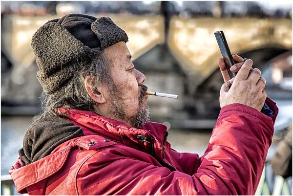 Where\'s that cigarette lighter app? by Owdman