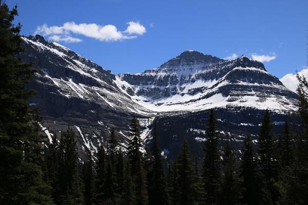 Rocky Mountains Montana by Janetdinah