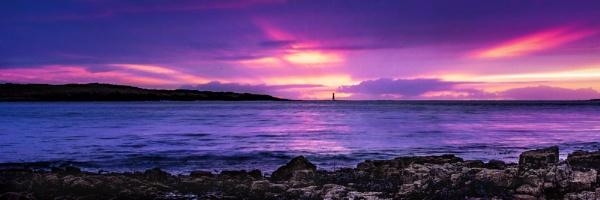 Blackrock dusk by zwarder