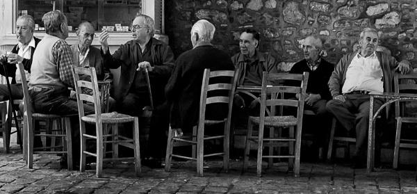Greek Village Elders by Zydeco_Joe