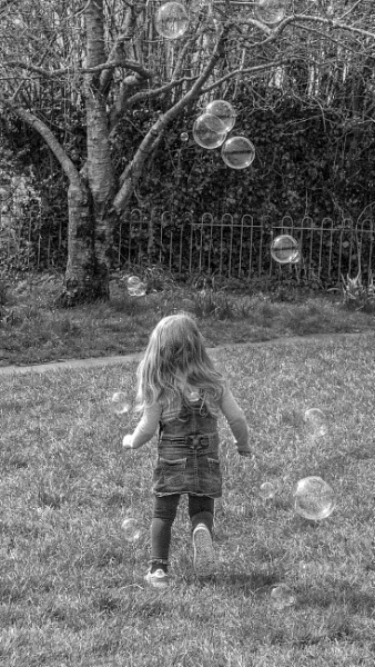 Bubble Chasing by interchelleamateurphotography