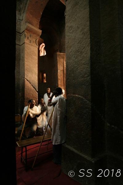 Singing monks