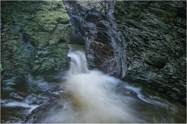 Lydford Gorge, Nr Tavistock, Dartmoor UK by Tobytoes