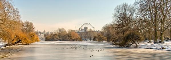 winter in the city by mogobiker