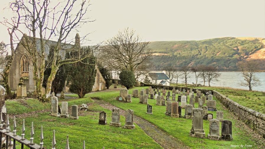 Inverchaolain Church on Loch Striven.