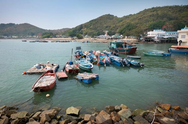 Tai O boats