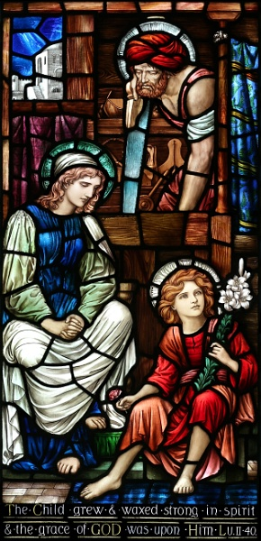 The Child Grew - Chapel of St. Nicholas, Oxford