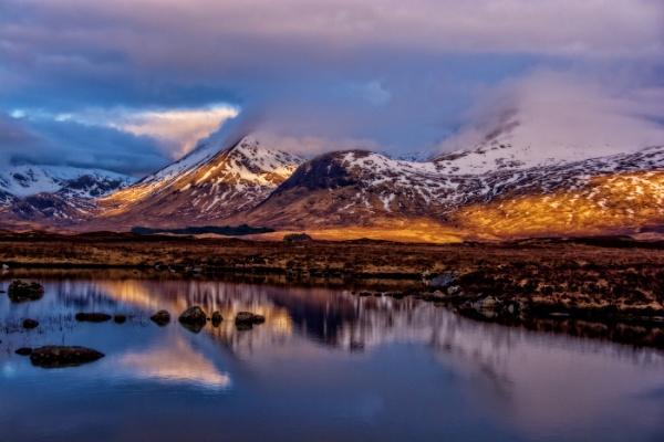 Loch Ba by dven