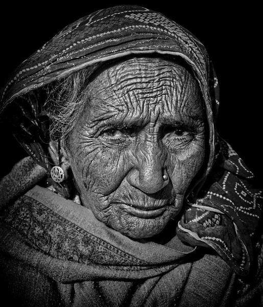 The matriarch of Pushkar by sawsengee