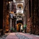 Via del Castello dei Doria. by sunsetskydancer