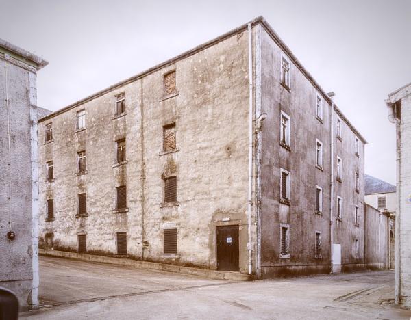 Bunnahabhain Distillery by pink